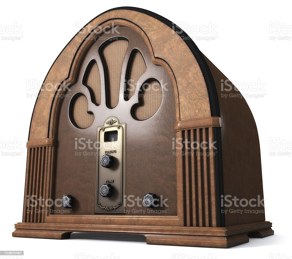 Cathedral Radio stock photo
