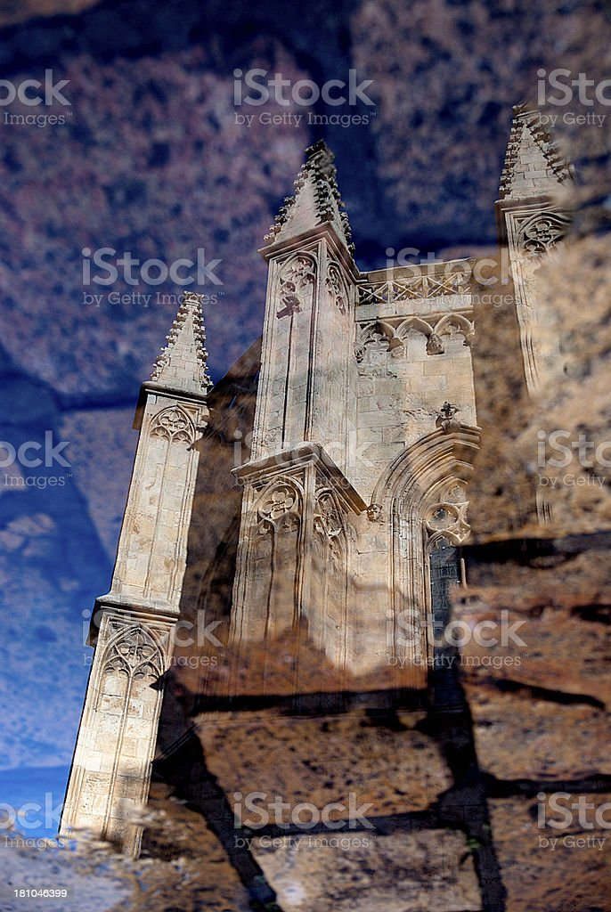Cathedral Reflection royalty-free stock photo