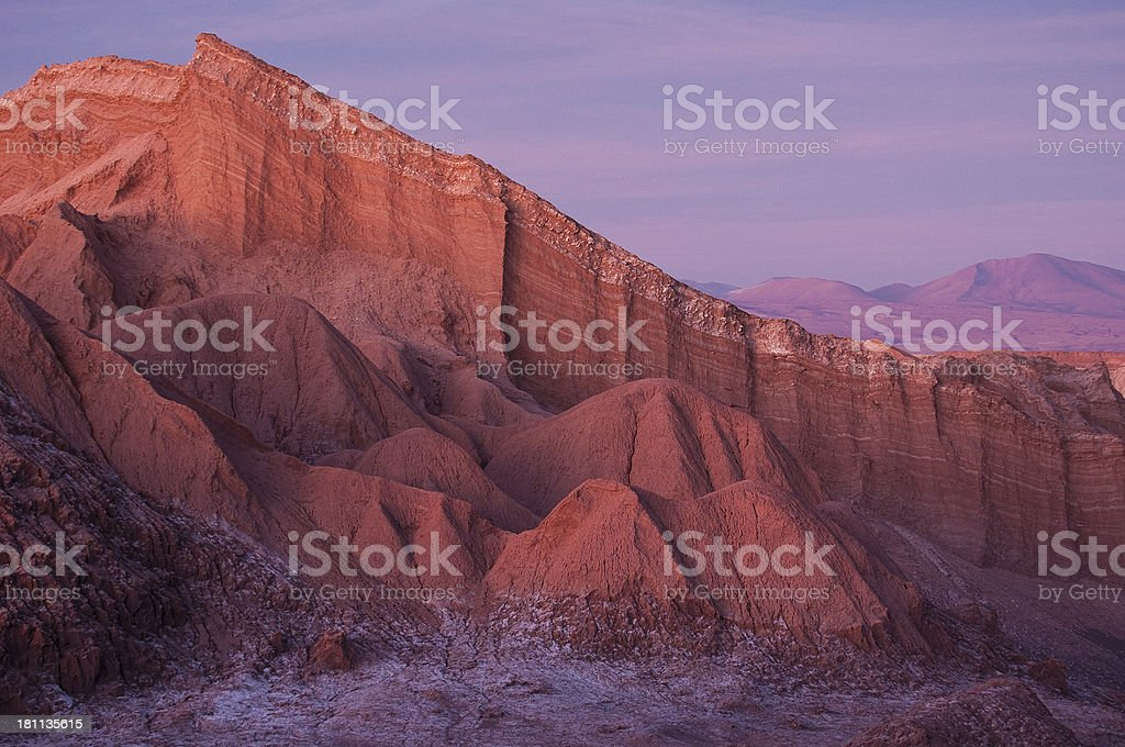 Cathedral Rock San Pedro Chile stock photo