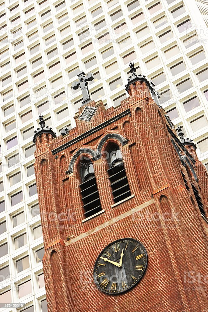 Cathedral Saint Mary Immaculate Conception stock photo