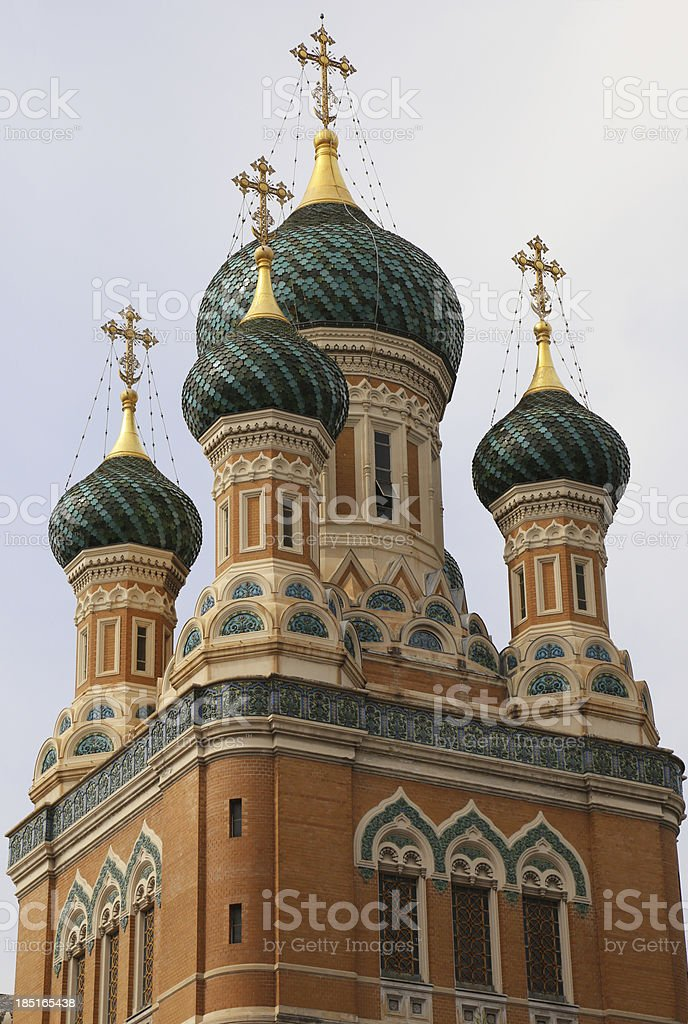 Cathedral Saint Nicholas stock photo