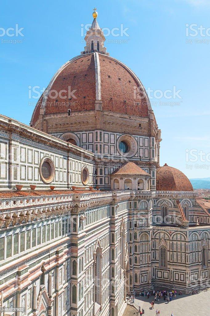 Cathedral Santa Maria del Fiore stock photo