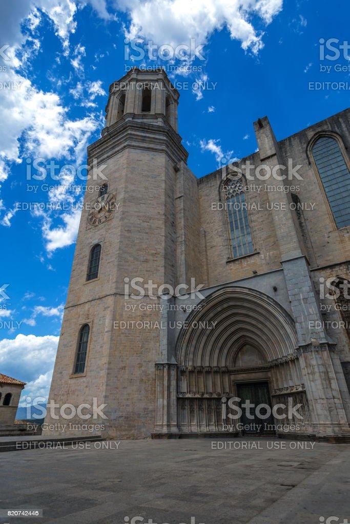 cathedral Santa Maria stock photo