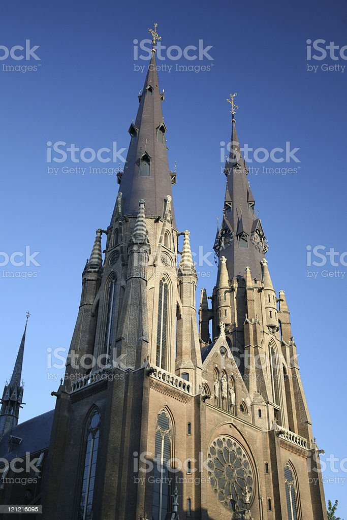 Cathedral Towers stock photo