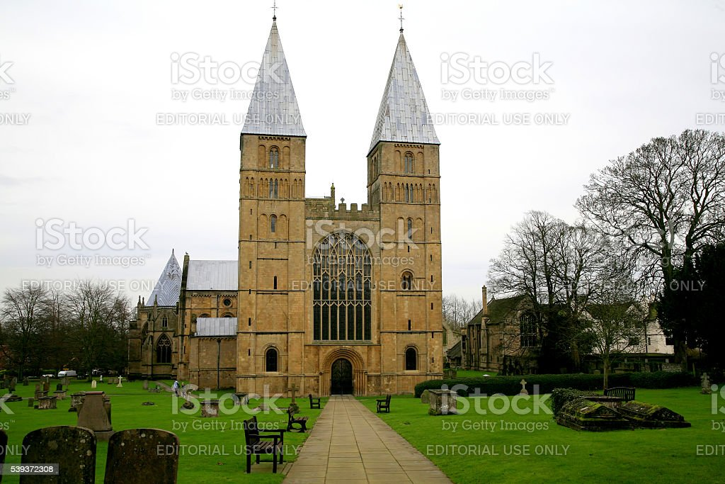 Cathedral towers. stock photo