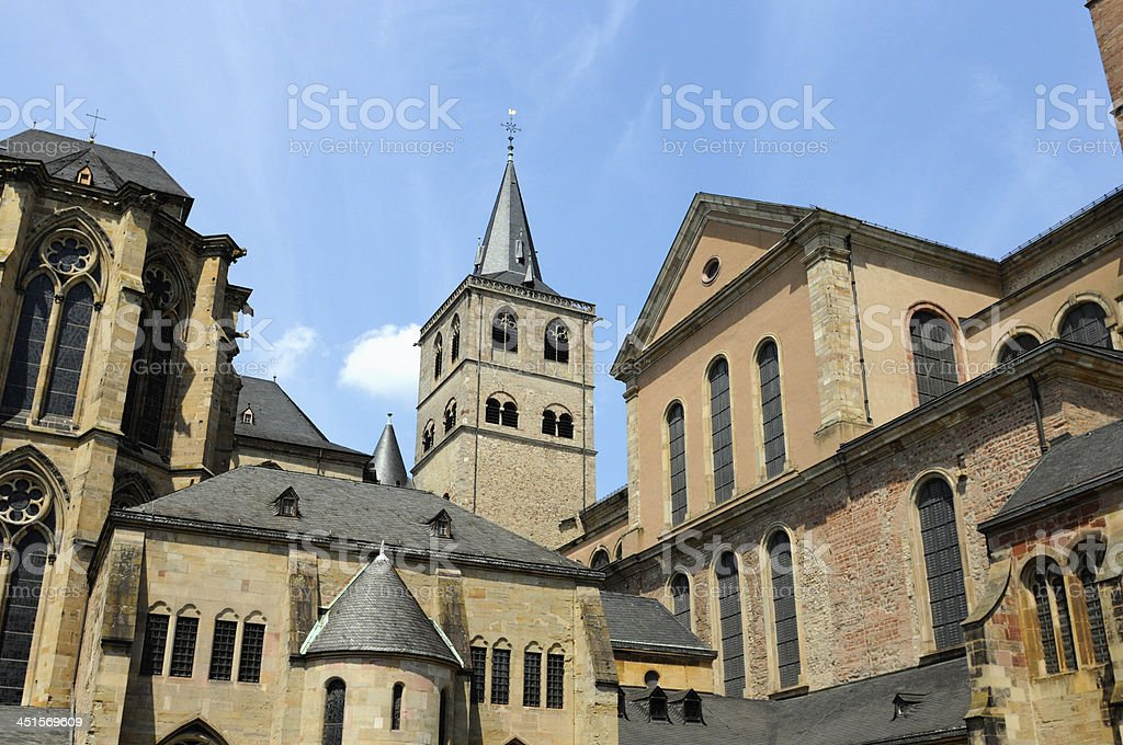 Cathedral Trier (Saint Peter's Cathedral) stock photo