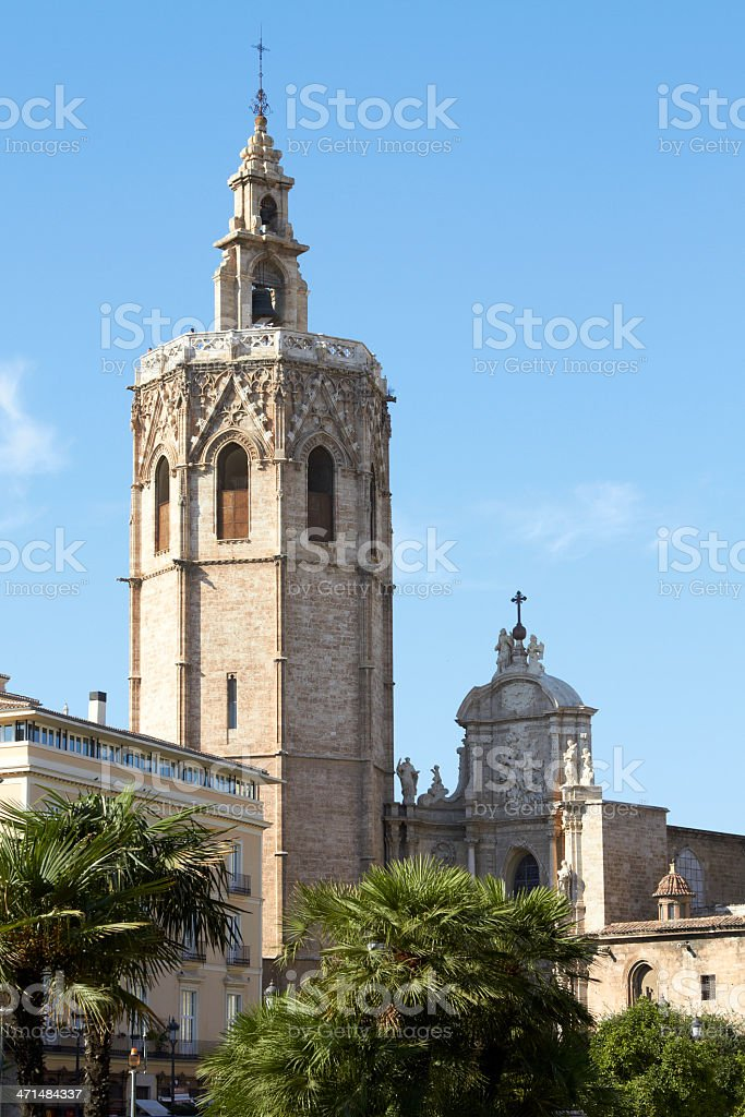 Cathedral - Valencia, Spain royalty-free stock photo