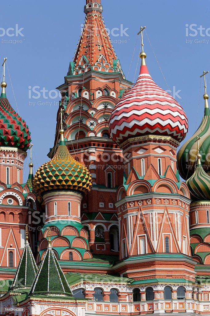 Cathedral Vasili Blaseni, Moscow royalty-free stock photo