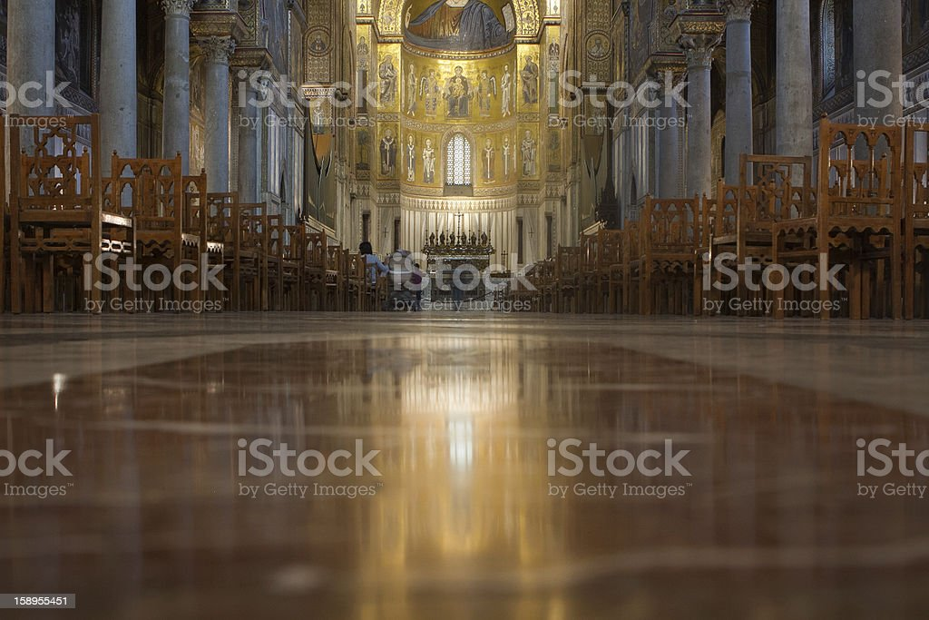 Cathedral-Basilica of Monreale royalty-free stock photo