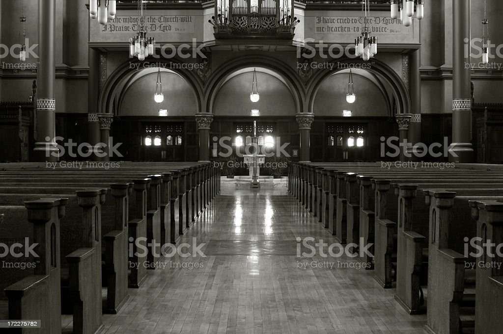Catherdral of the Madeline royalty-free stock photo