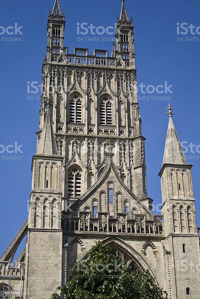 Catherdral Steeple stock photo
