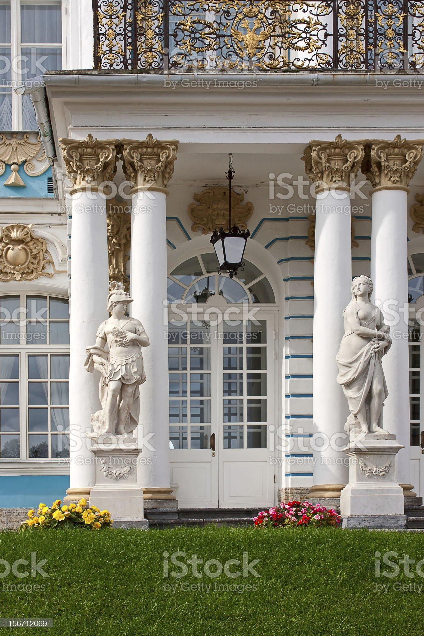 Catherine Palace royalty-free stock photo