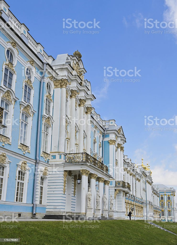 Catherine Palace, Russia royalty-free stock photo