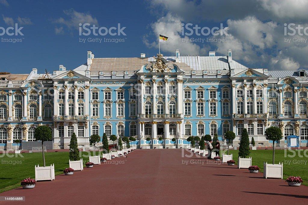 Catherine Palace, St. Petersburg, Russia stock photo