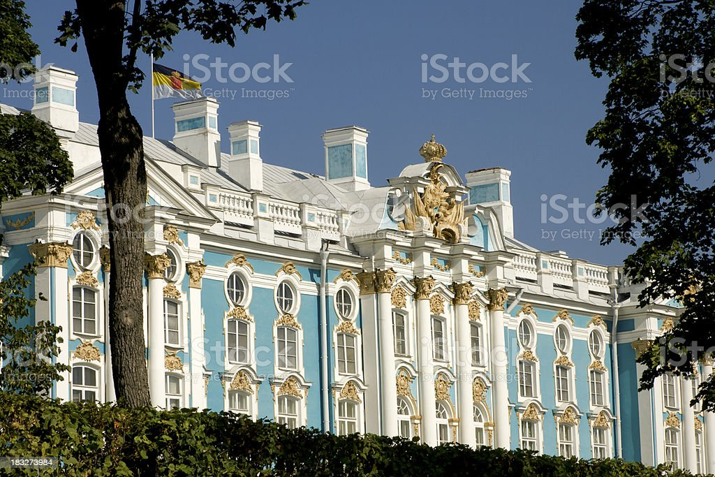 Catherine Palace, St. Petersburg, Russia royalty-free stock photo