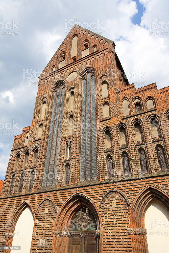 Catherine´s Church (Katharinenkirche) stock photo