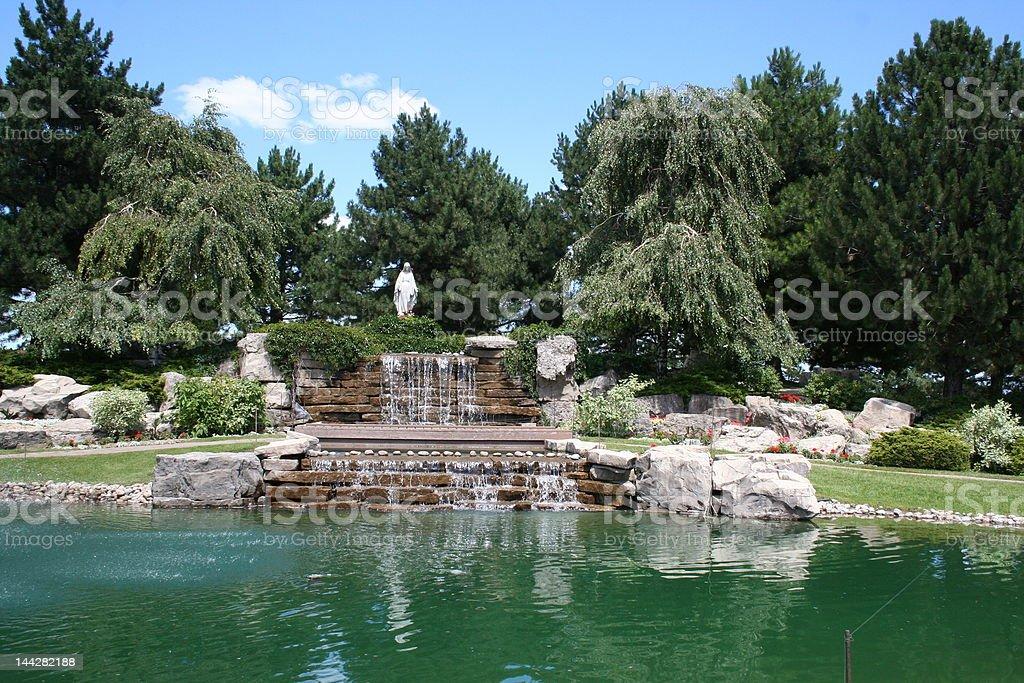 catholic cemetery stock photo