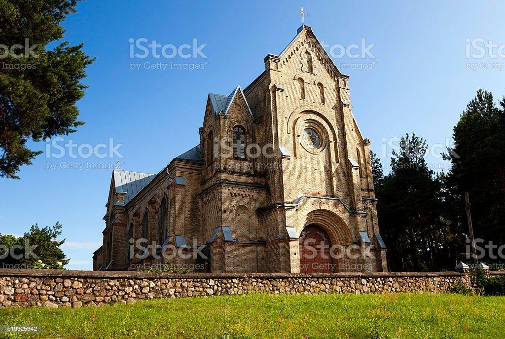 Catholic Church , Belarus stock photo
