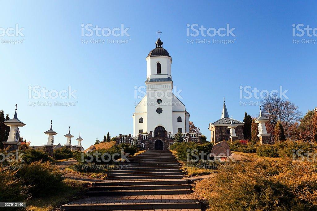 Catholic Church  Belarus stock photo