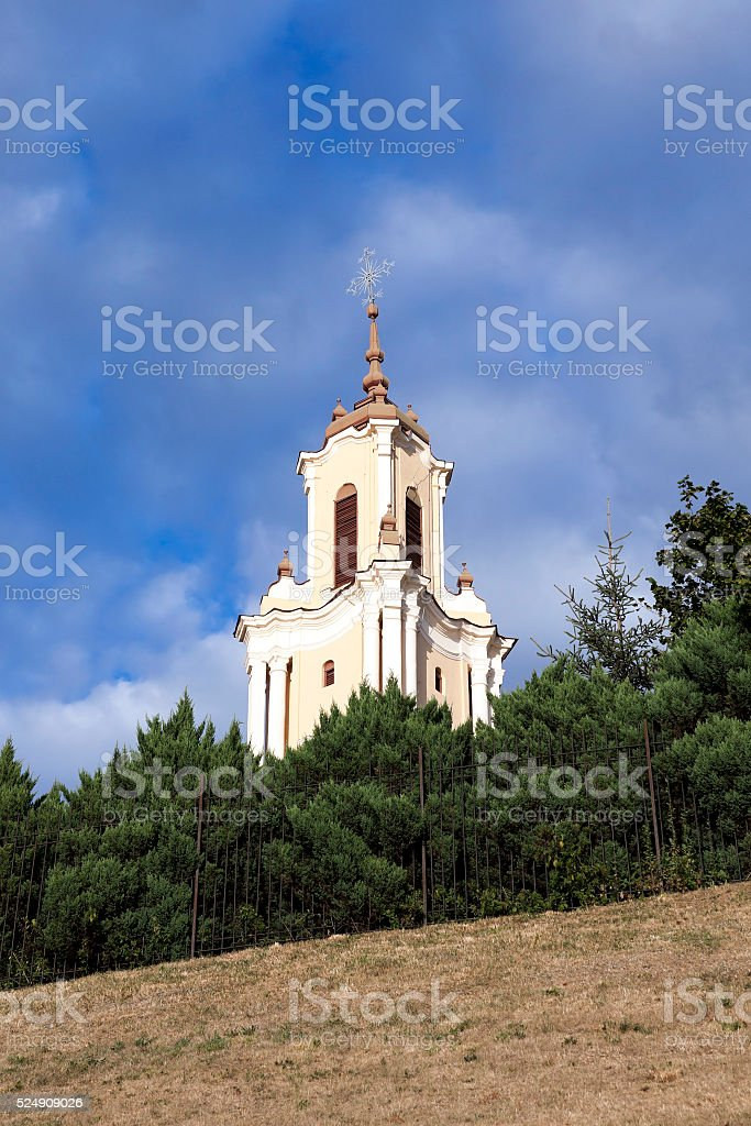 Catholic Church, Grodno stock photo