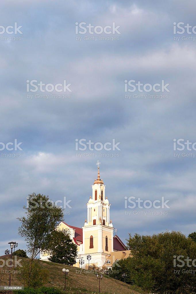 Catholic Church, Grodno stock photo