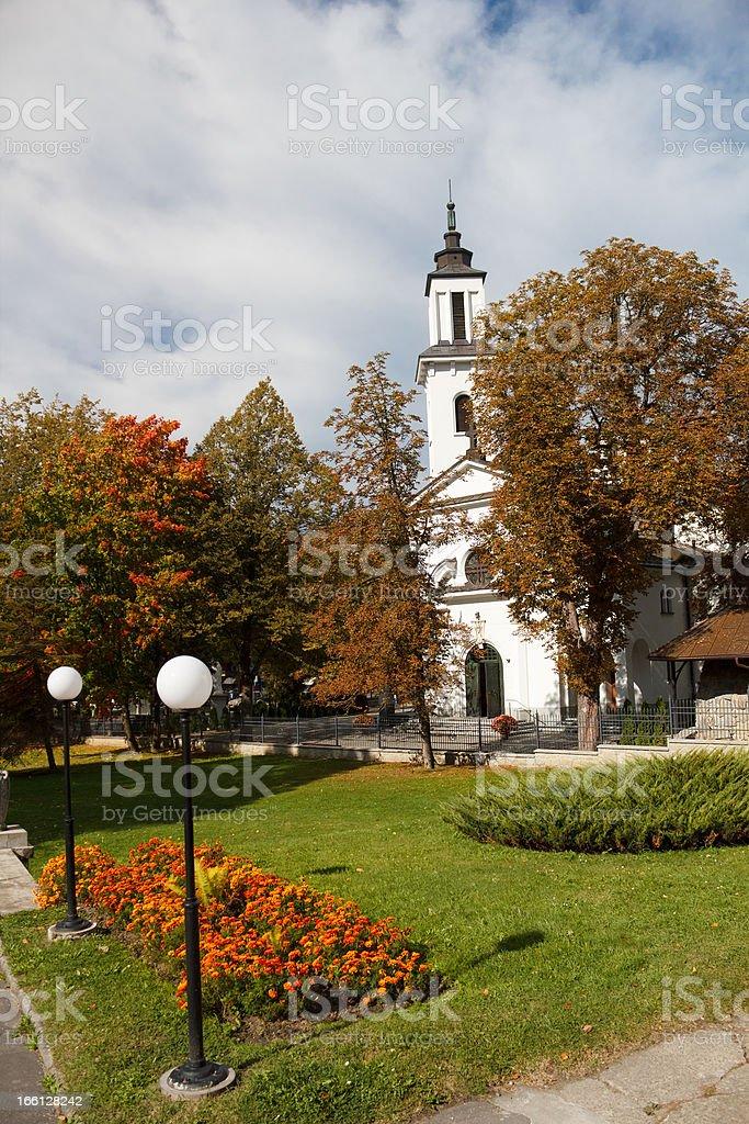 Catholic Church of 19th Century royalty-free stock photo