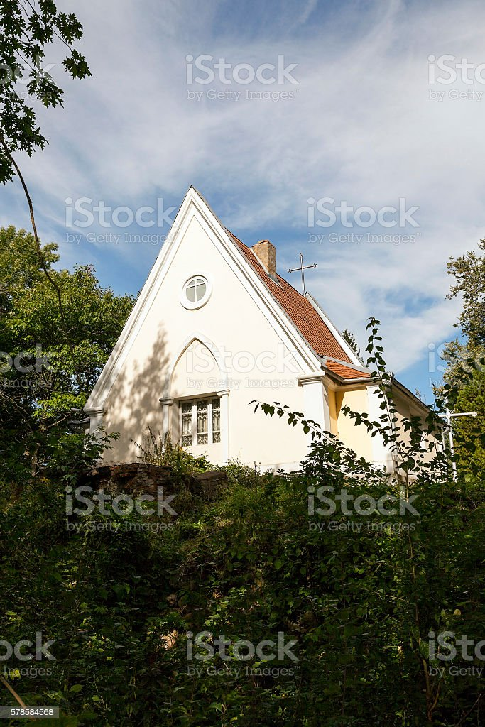 Catholic Church of Belarus stock photo