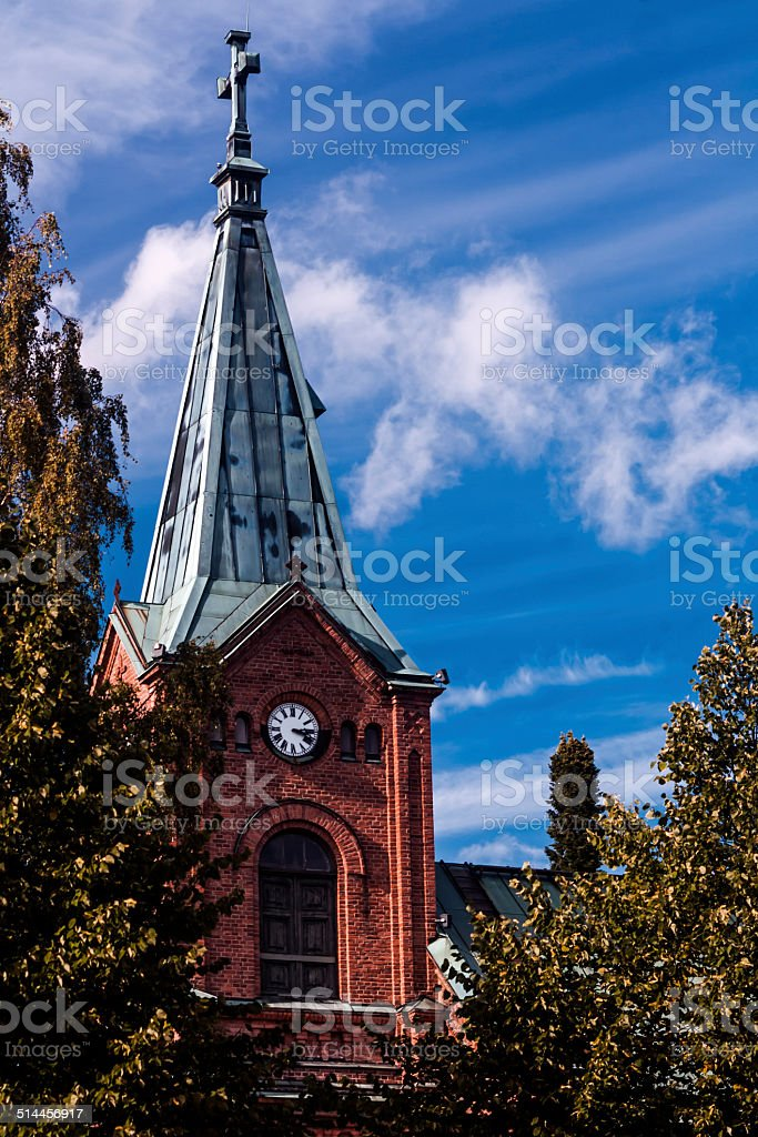 Catholic Church of Finland royalty-free stock photo