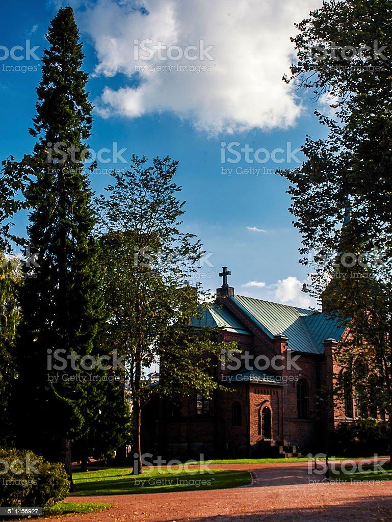 Catholic Church of Finland royalty-free stock photo