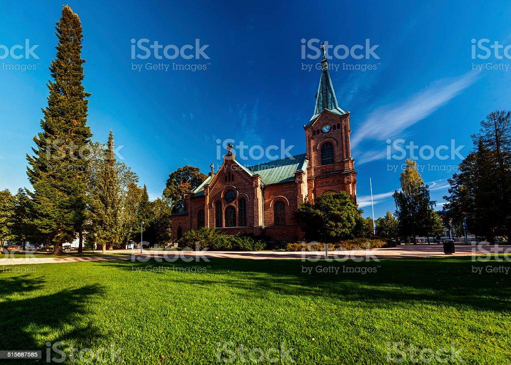 Catholic Church Panorama royalty-free stock photo