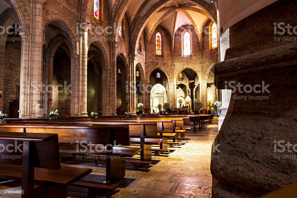 Catholic Church stock photo