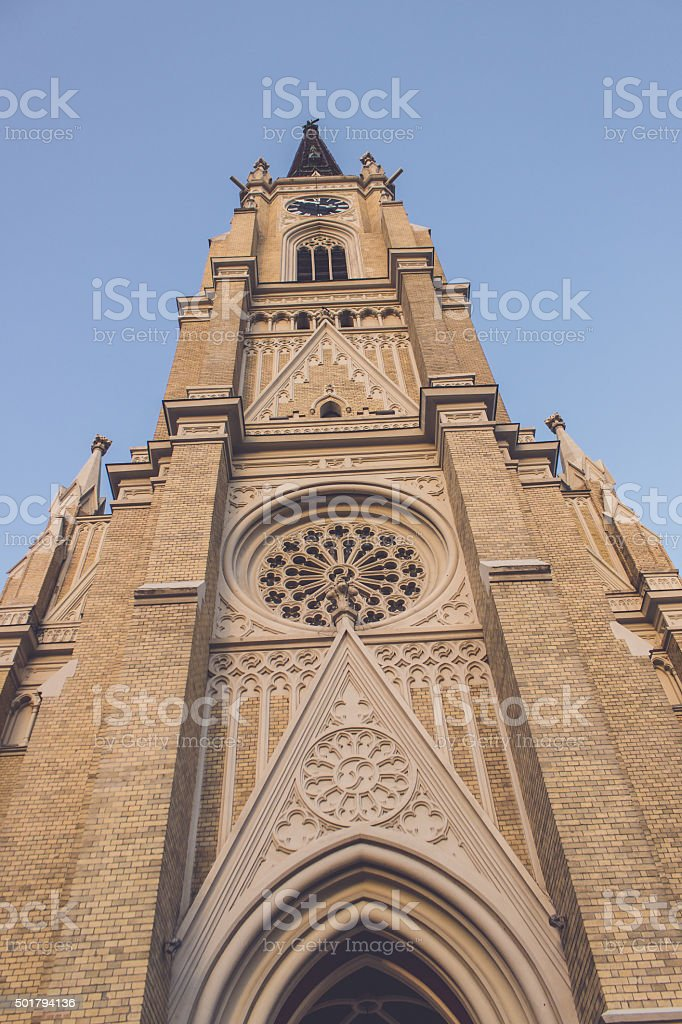Catholic Church stock photo