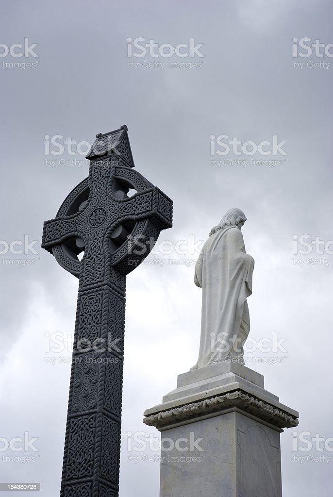 Catholic Ireland royalty-free stock photo