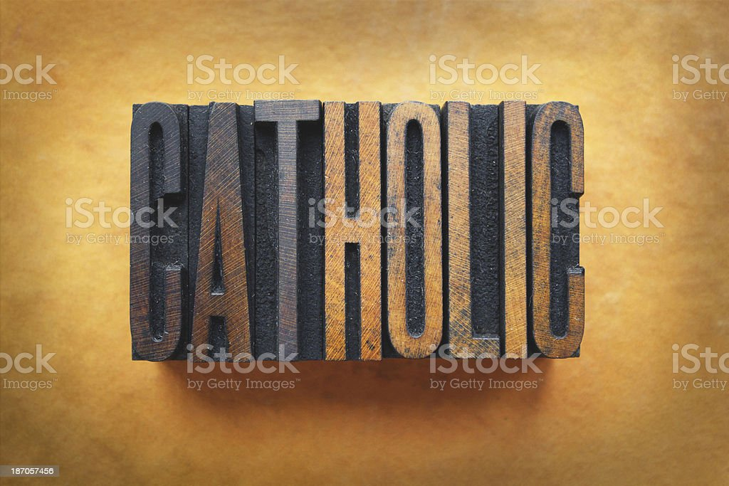 Catholic stock photo