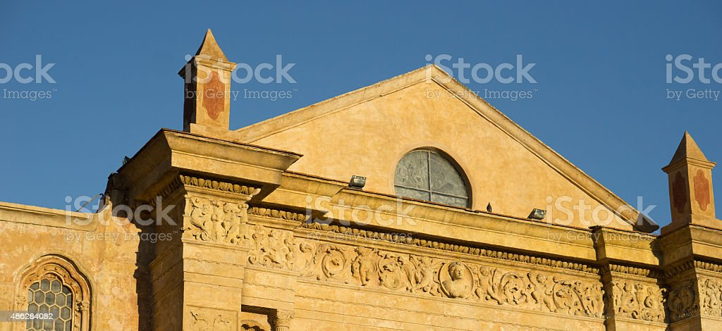 Cathredral stock photo