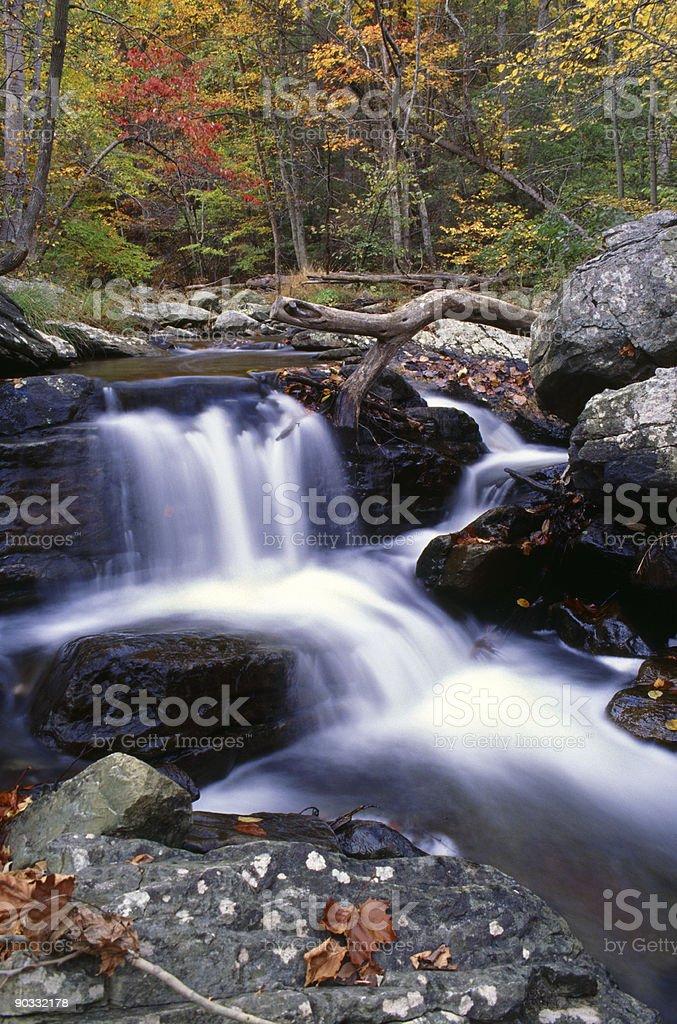 Catoctin Waterfall stock photo