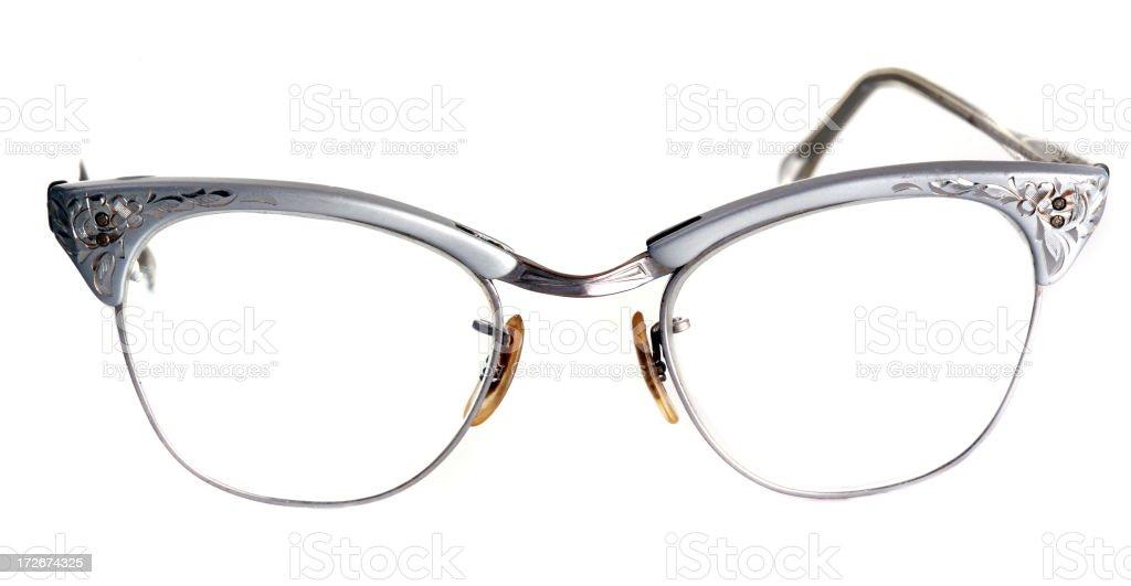 Cat's Eye Glasses royalty-free stock photo