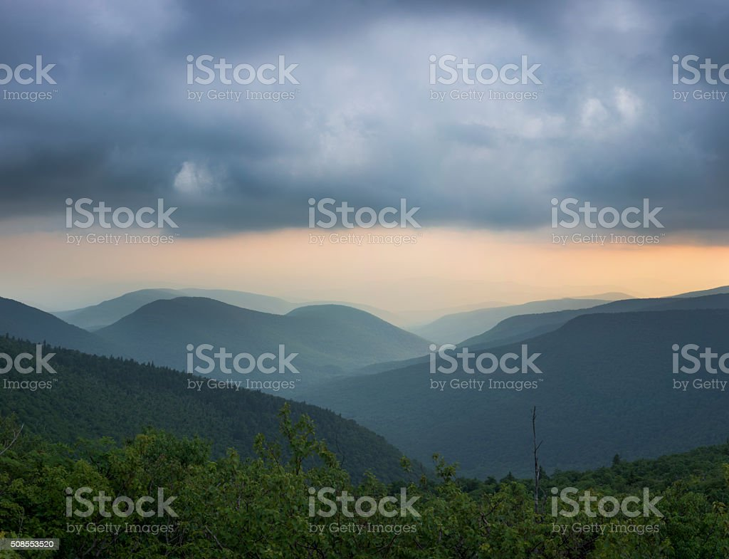Catskill Mountain Clove stock photo
