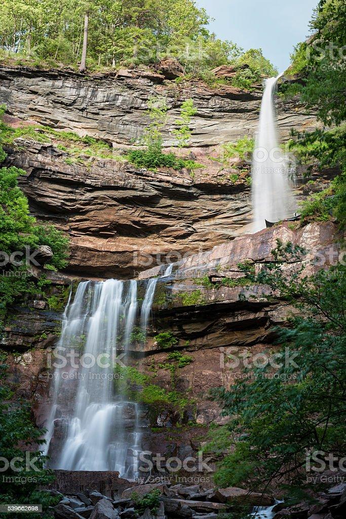 Catskill Mountain Waterfalls stock photo