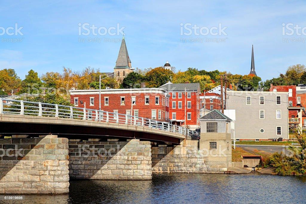 Catskill, New York stock photo