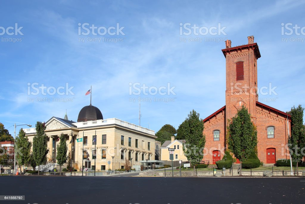 Catskill, New York stock photo