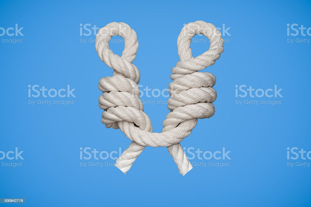 CatsPaw Knot stock photo