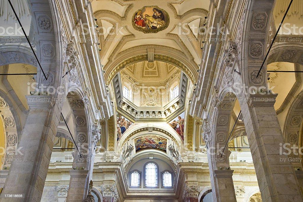 Cattedrale di Cagliari royalty-free stock photo