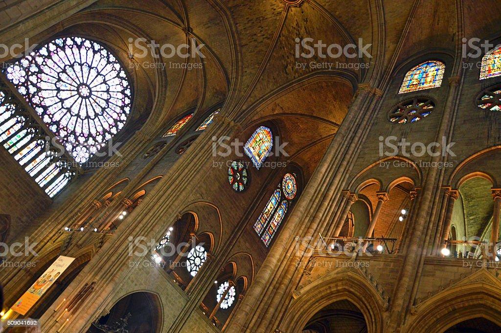 Cattedrale di Notre Dame Parigi stock photo
