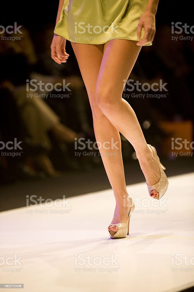 Catwalk stock photo