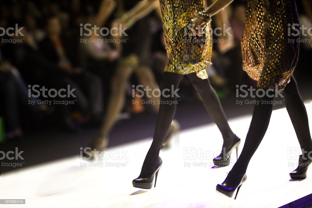 Catwalk show royalty-free stock photo