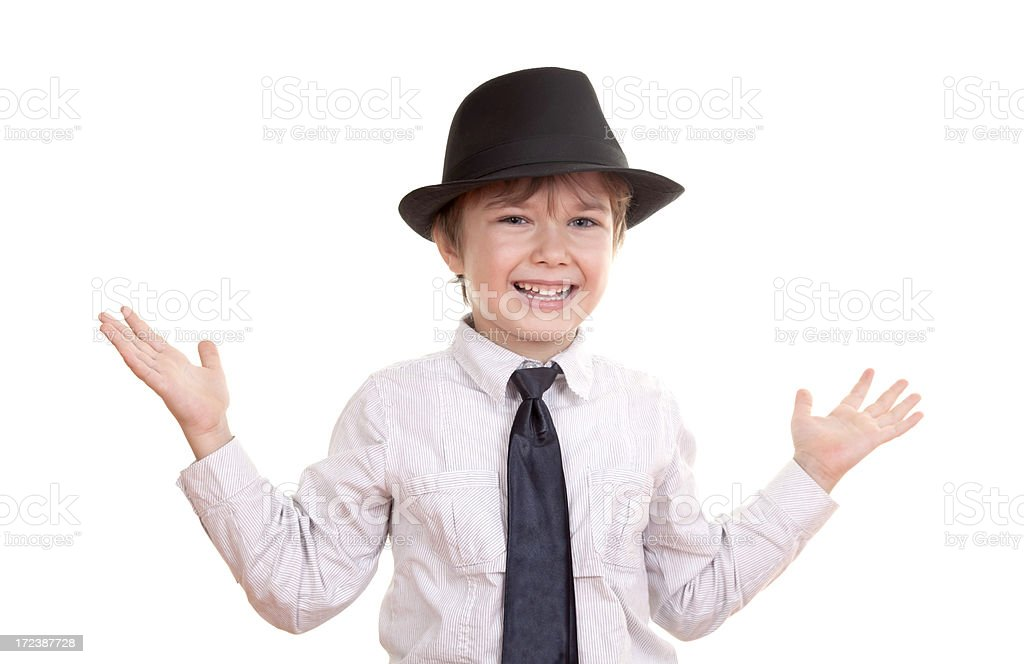 caucasian boy smiling royalty-free stock photo
