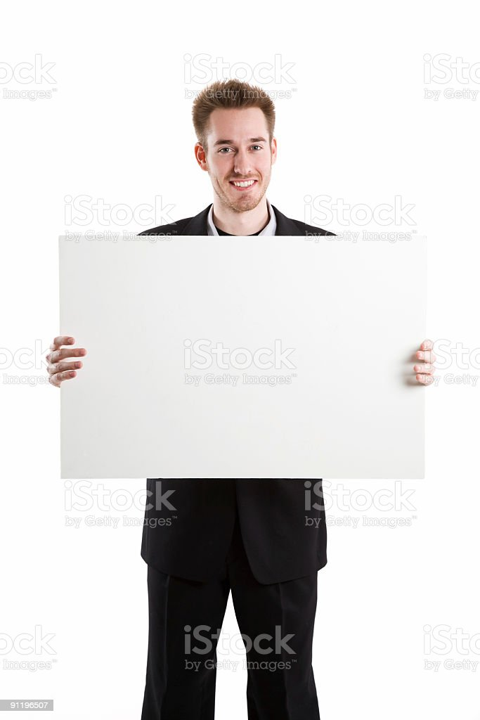 Caucasian businessman royalty-free stock photo