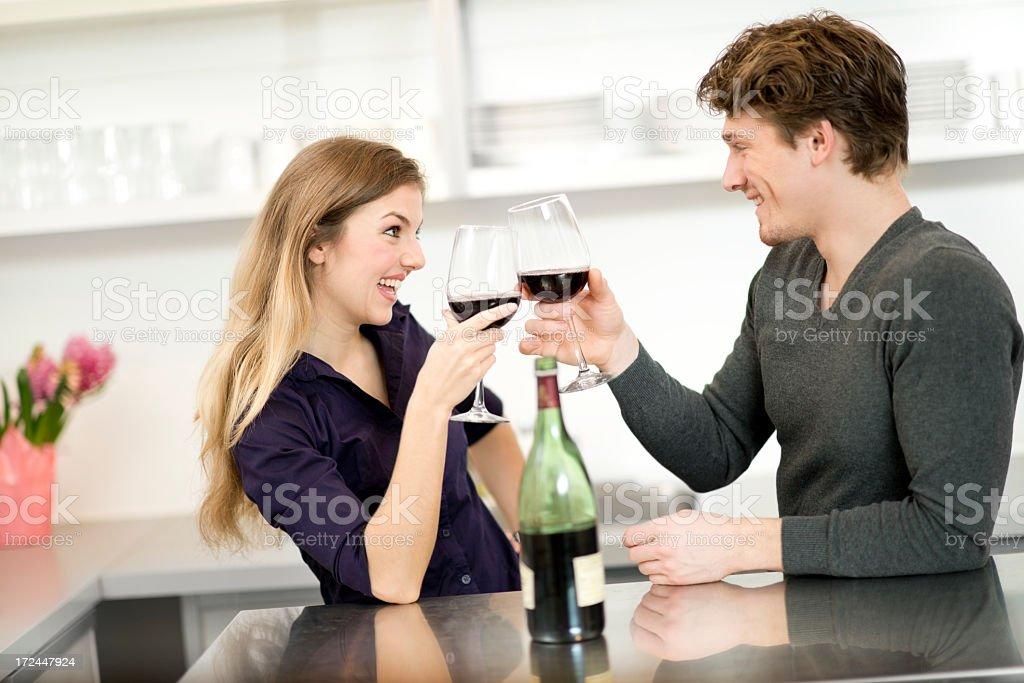 Caucasian Couple royalty-free stock photo
