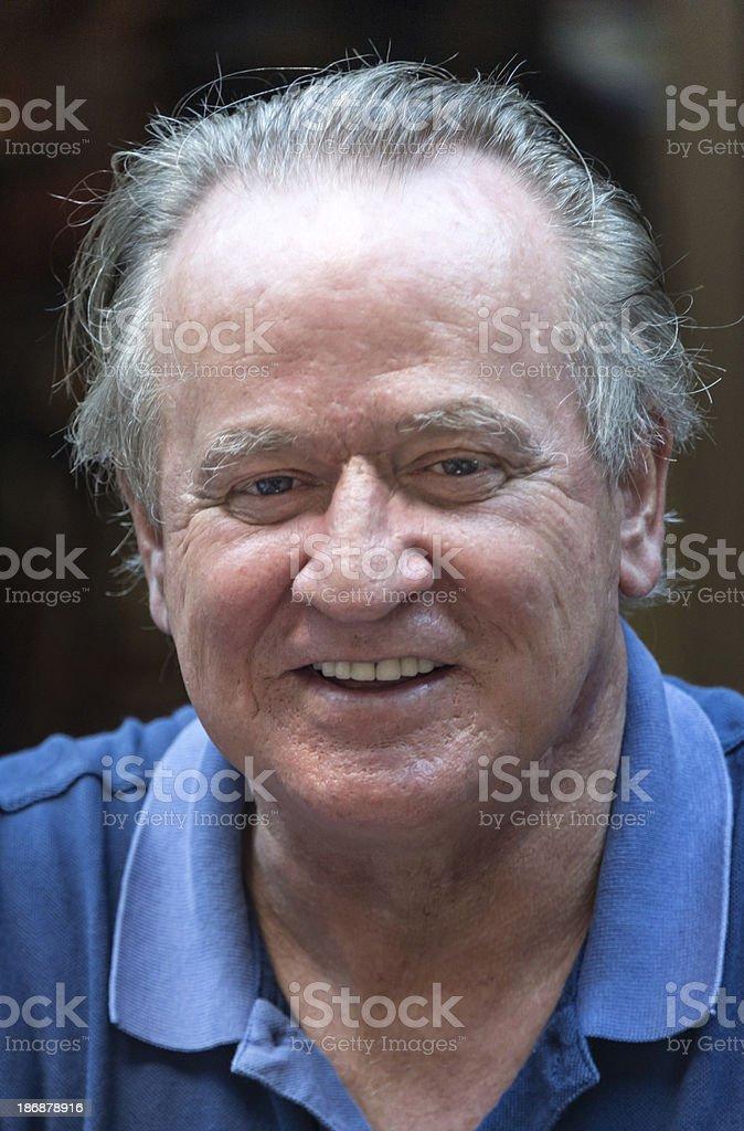 Caucasian Senior Man royalty-free stock photo